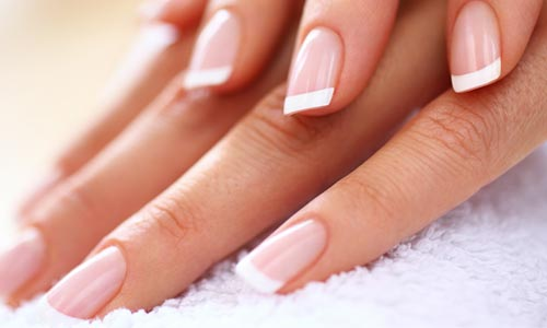 Picture of gel nail treatments at Alchemy
